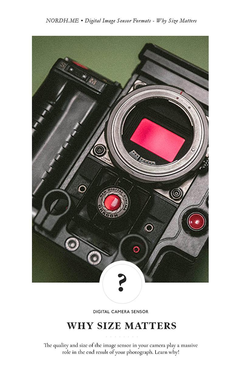 Digital Image Sensor Formats - Why Size Matters